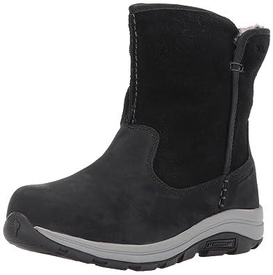 05727dc474 Columbia Women's Bangor Slip Omni-Heat Ankle Boot, Black, Stratus, 5 Regular