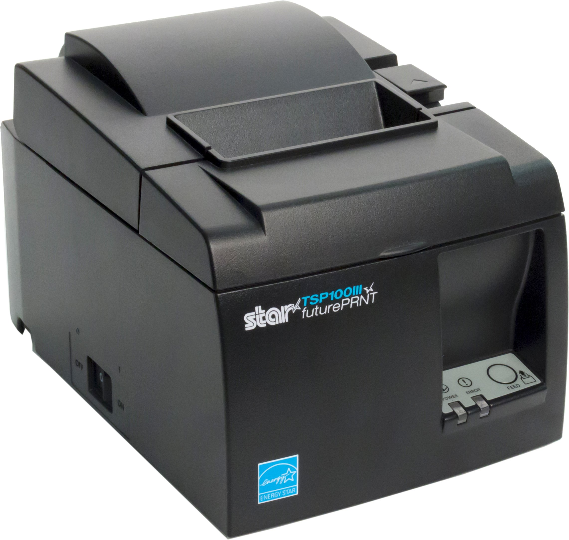 Star Micronics TSP143IIIU USB Thermal Receipt Printer with Device and Mfi USB Ports, Auto-cutter, and Internal Power Supply - Gray by Star Micronics (Image #6)