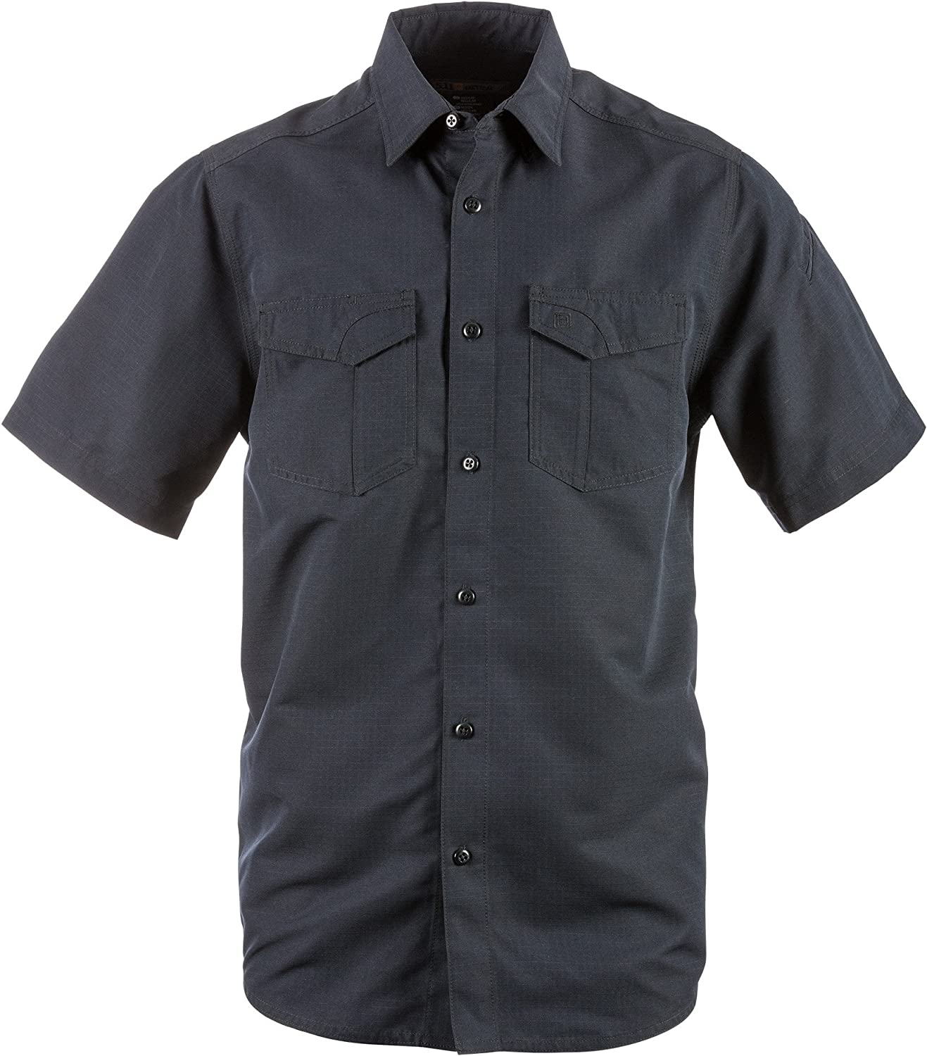 5.11 Tactical Fast-Tac Tall Short-Sleeve Shirt Dark Navy 4-x-Large