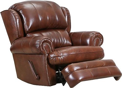 Lane Home Furnishings 57000-19 Delray Saddle Recliner, brown