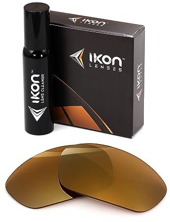 cfae0645a5 Polarized IKON Replacement Lenses for Maui Jim Stingray MJ-103 Sunglasses -  24K Gold