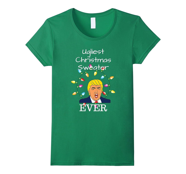 Amazon.com: Ugliest Christmas Sweater Ever for Anti Trump Liberals ...