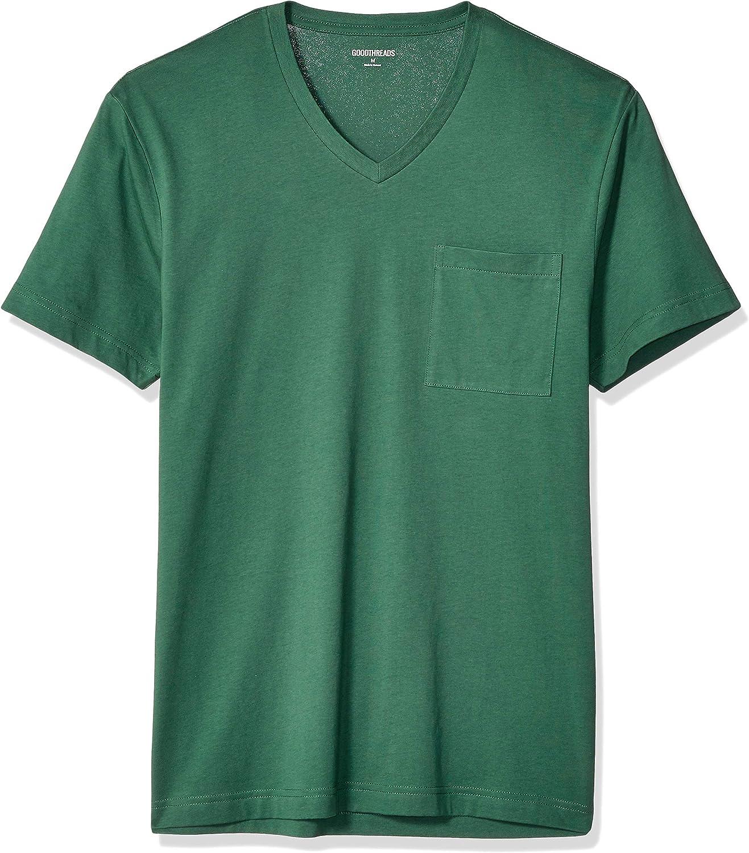 "Amazon Brand - Goodthreads Men's ""The Perfect V-Neck T-Shirt"" Short-Sleeve Cotton"