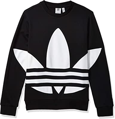 adidas Originals Youth Big Trefoil Crew Neck Sweatshirt