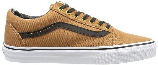 Vans Old Skool, V1R1H0L, Unisex-Erwachsene Sneakers, Braun (t&l/Rubber/Black),  40.5 EU (7 UK): Amazon.de: Schuhe & Handtaschen