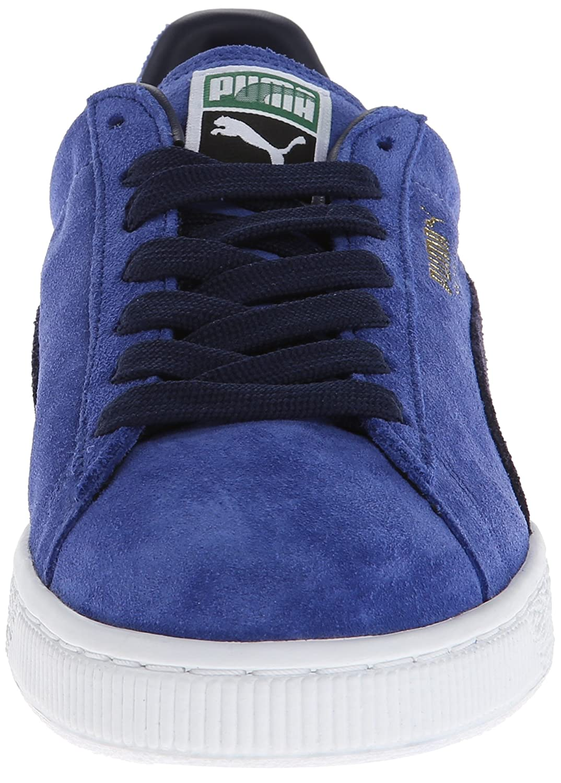 PUMA Adult Suede Classic Shoe B00GV4I8ZS 8 M US|Limoges/Peacoat