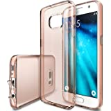 Galaxy S7 Case, Ringke [Air Series] Weightless as Air, Extreme Featherweight Flexible Supple TPU Sturdy Structured Classy & Vital Protective Skin Cover for Samsung Galaxy S 7 2016 – Rose Gold Crystal