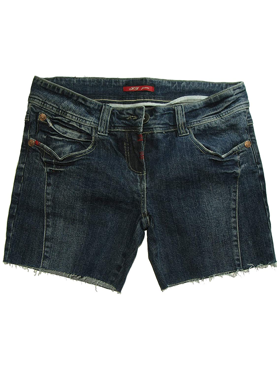 KEEP IN TOUCH Womens Stretch Denim Shorts 38923s/&c