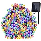 Amazon Price History for:GDEALER Solar String Lights 72feet 200 LED 8 Modes Solar Powered Waterproof Starry Fairy Outdoor String Lights holiday Decoration Lights for Patio Gardens Homes Landscape Wedding Party