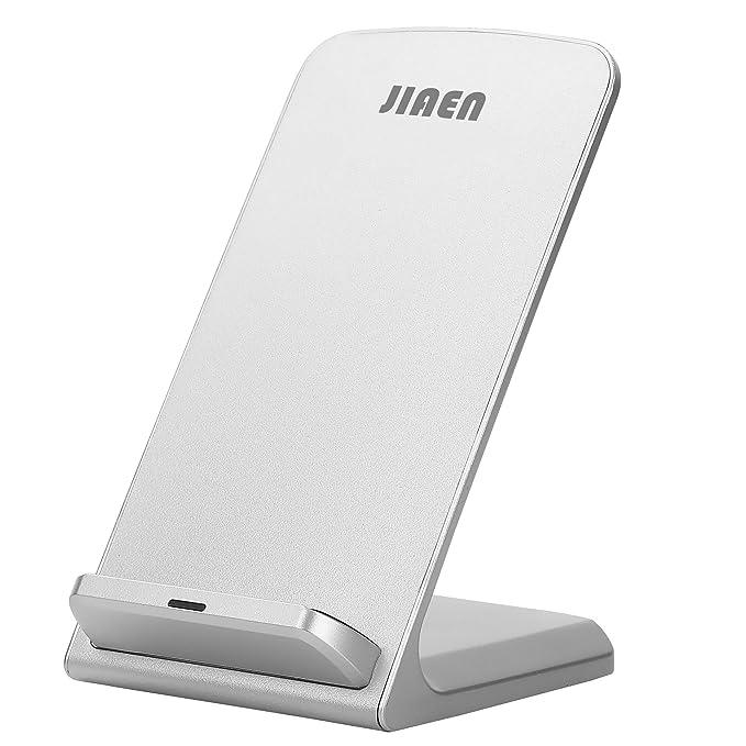 e-jiaen Fast Cargadores soporte de carga inalámbrica Qi Pad de ...