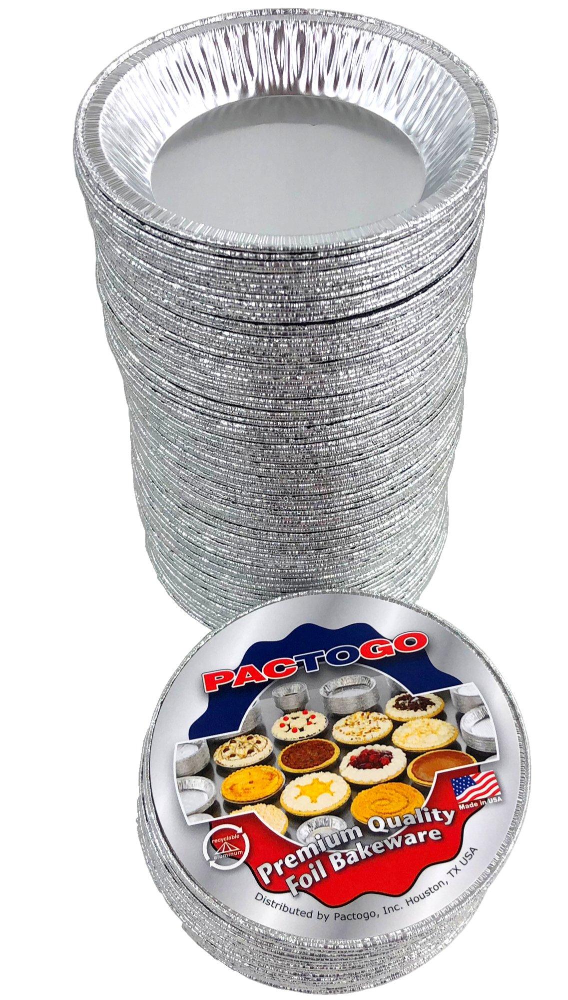 Pactogo 4 1/2'' Foil Tart Pan 7/8'' Deep - Mini Baking Pie Tins (Pack of 500) by PACTOGO (Image #6)