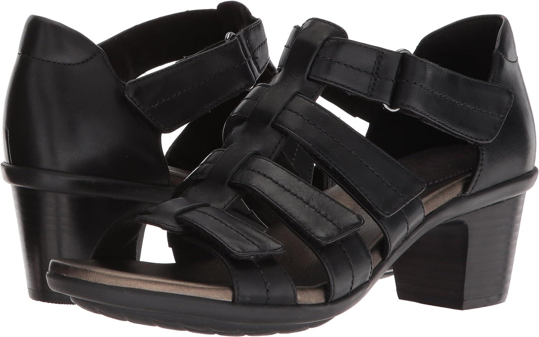 Aravon Womens Medici II Gladiator Heeled Sandal
