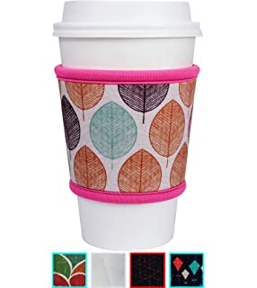 Glamour Puss Insulated Coffee Cup Sleeves Reusable Neoprene Custom Bling