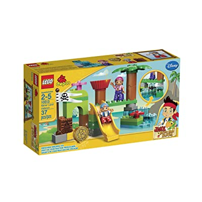 LEGO DUPLO Never Land Hideout 10513: Toys & Games