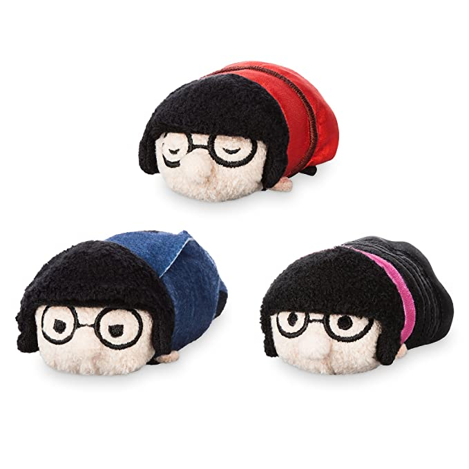 8dfafdc4bcd Amazon.com  Pixar Edna Mode   Tsum Tsum   Box Set  Clothing