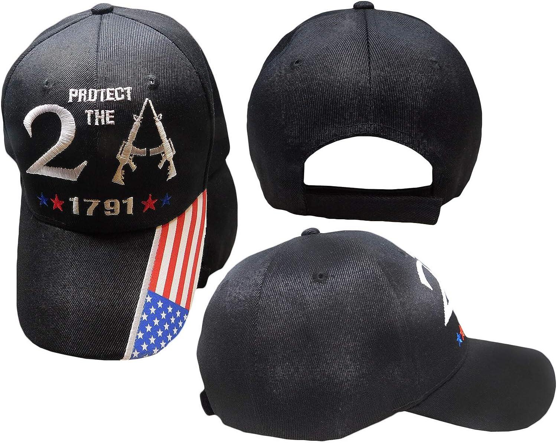 2nd Amendment 1791 AK-47 Official Kryptek American Flag Design 2A Baseball Hat