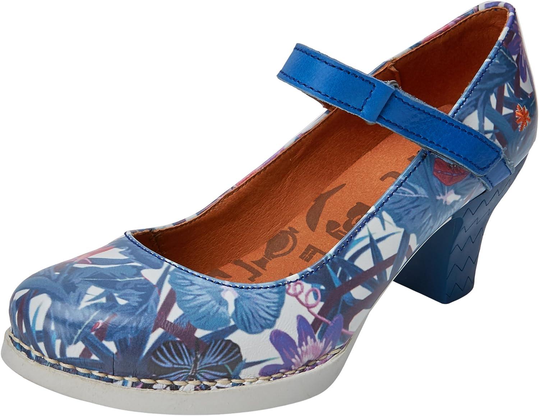 Art 0933f Fantasy Harlem, Zapatos de tacón con Punta Cerrada para Mujer