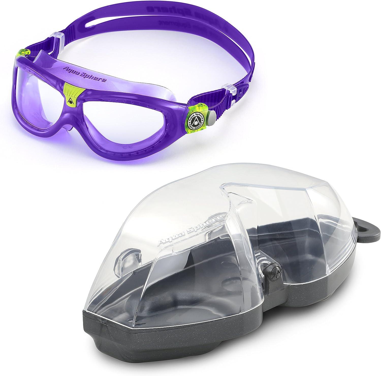 Clear Aqua Sphere Seal Kids 2 Old Version Violet