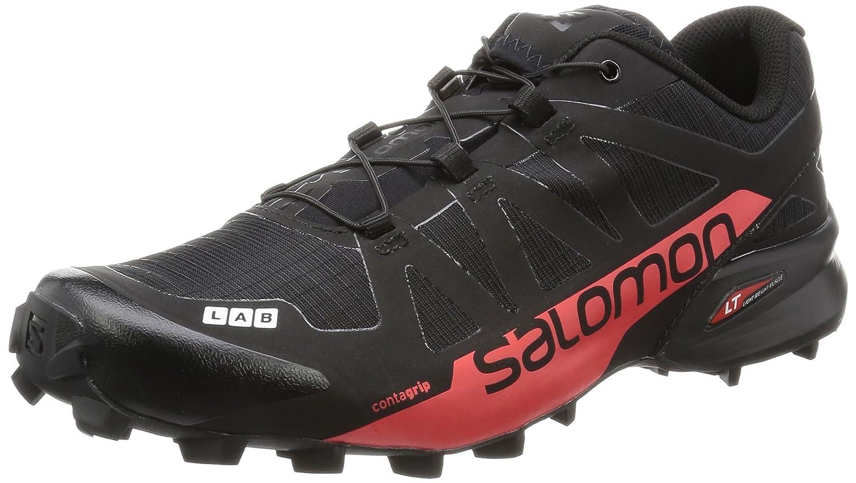 [サロモン] トレイルランニングシューズ S-LAB SPEEDCROSS L39122100 B017SRPHTG 26.0 cm BLACK / RACING RED