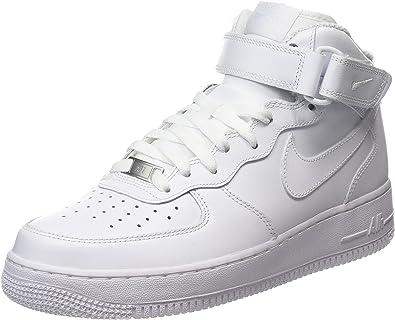 nike air force 1 white high top womens