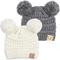 Exclusives Baby Infant Beanie Knit Warm Winter Pom Skull Cap Hat