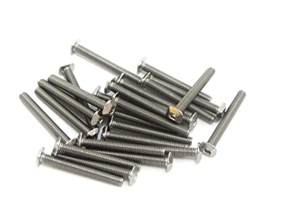 12mm 100 pcs and 25mm 25pcs Makerbeam M3 Bolts with Square Head