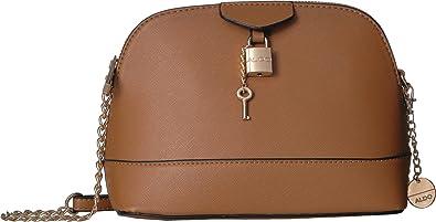 f5a62cf02c ALDO Women s Draoswen Cognac One Size  Handbags  Amazon.com