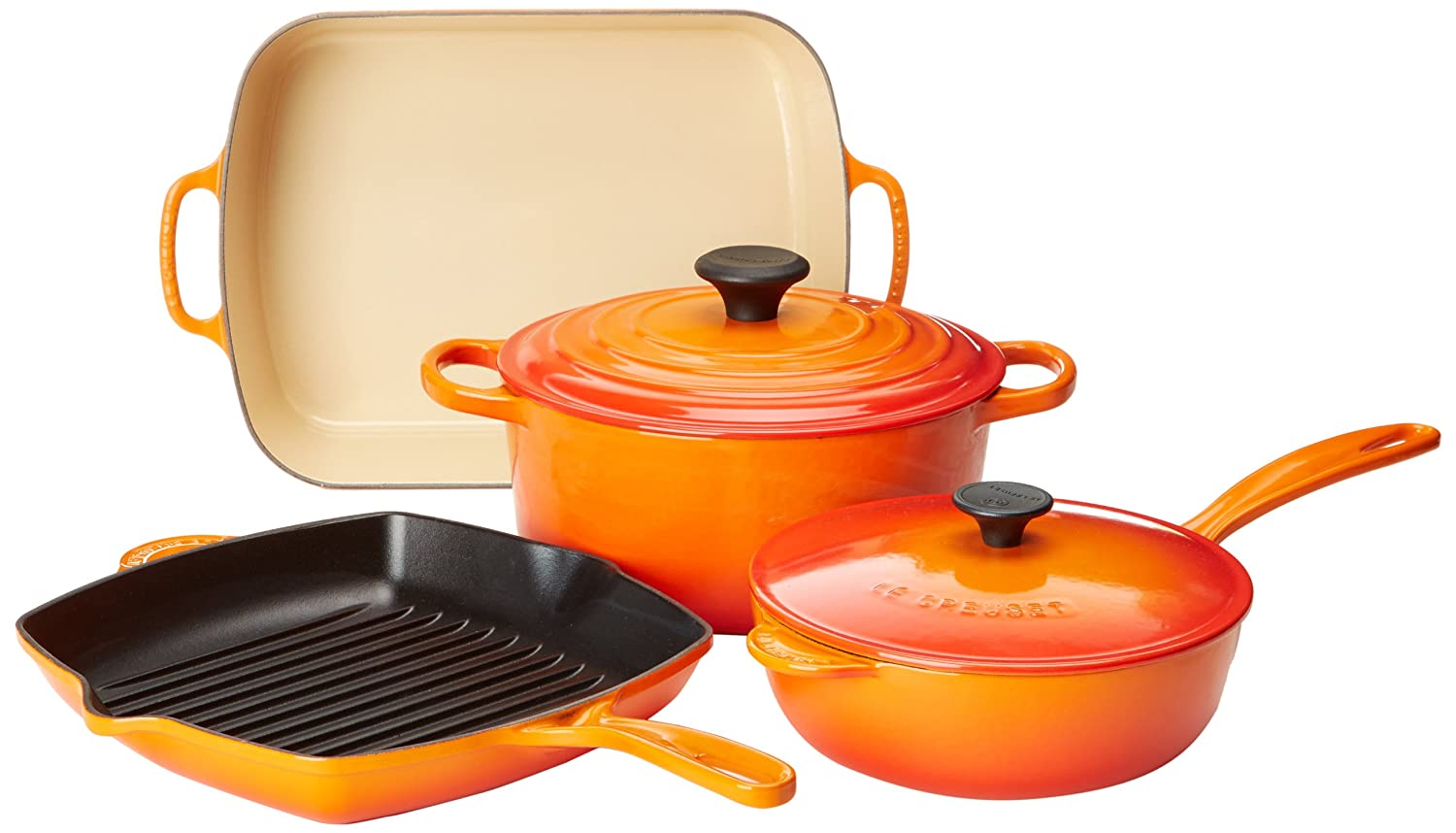 Le Creuset Cookware Flame