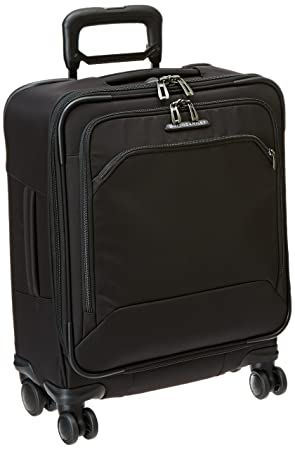 Briggs Riley International Carry-On Wide-Body Spinner, Black, One Size