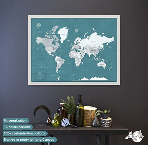 Travel map with push pins world travel map framed world travel map travel map with push pins world travel map framed world travel map pin board gumiabroncs Choice Image