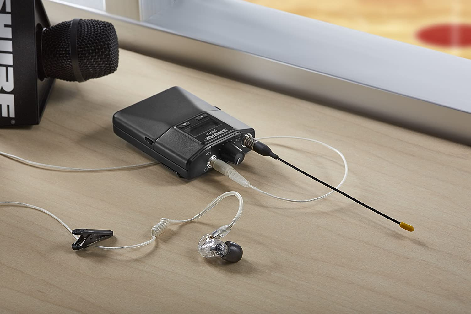 Shure EAC-IFB Coiled IFB Earphone Cable with Clip for Intercom Applications