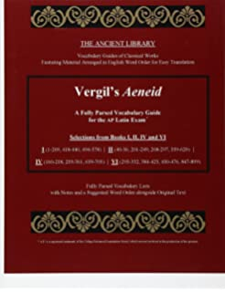 Amazon ap latin vergil exam rea test preps 9780738607061 vergils aeneid a fully parsed vocabulary guide for the ap latin exam selections from fandeluxe Image collections