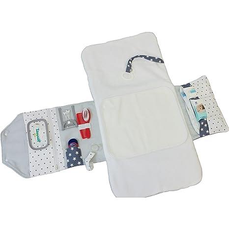 Atelier miamia Bolsa para pañales pañales para viajes con cambiador cambiador Edición Limitada. individualisierbar Talla