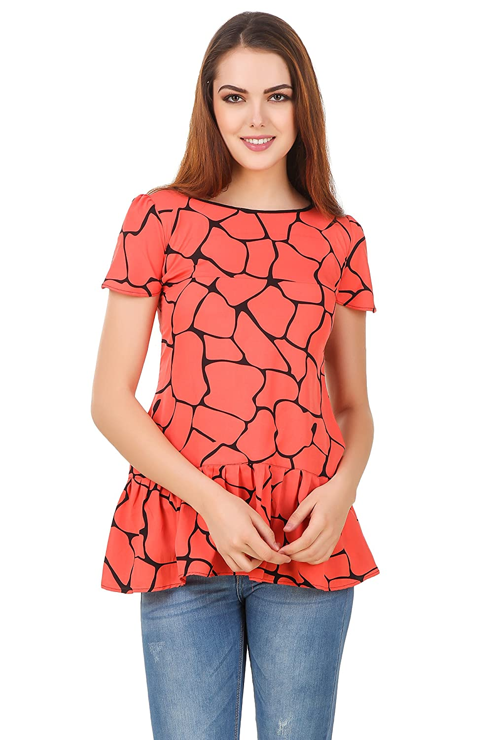 India Girls Orange Top (T70)