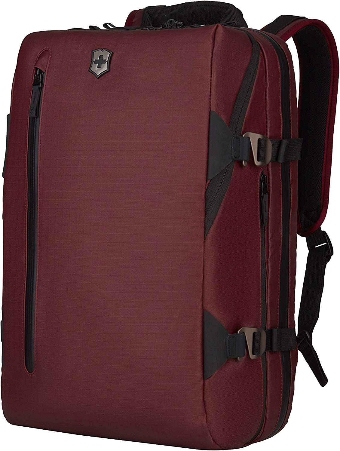 "Victorinox VX Touring 17"" Laptop Backpack with Tablet Pocket, Beetroot, 19.2-Inch"