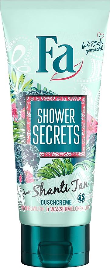 FA almendra Leche & Sandía Aroma Shower Secrets by Shanti (6 unidades x 200 milliliters
