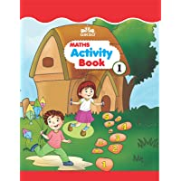 GIKSO Maths Activity Book – 1 for Kids Age 3-5 Years Old