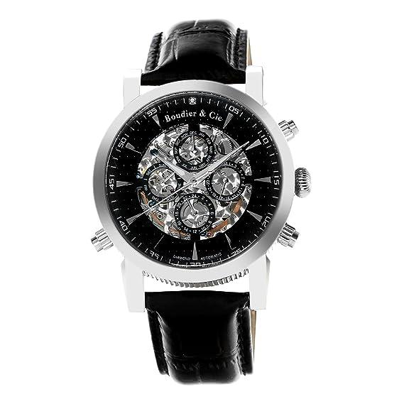 052367d4af78 Boudier   Cie SK14H053 - Reloj Esqueleto Automatico Analogico para hombre