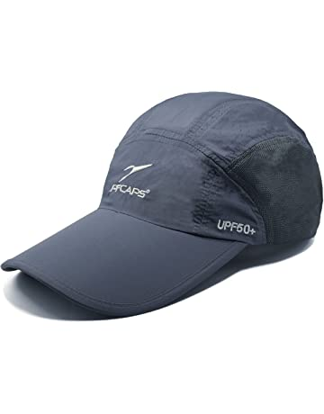 ed602eed6f3967 ELLEWIN Unisex Baseball Cap UPF 50 Unstructured Hat with Foldable Long  Large Bill