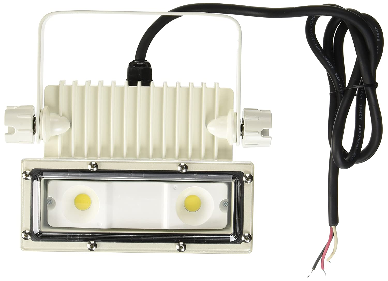 アイリスオーヤマ LED 投光器 角型 屋外 25W 防雨形 エコハイルクスパワー IRLDSP25N2-W-W 事 B01I99M60A 23329