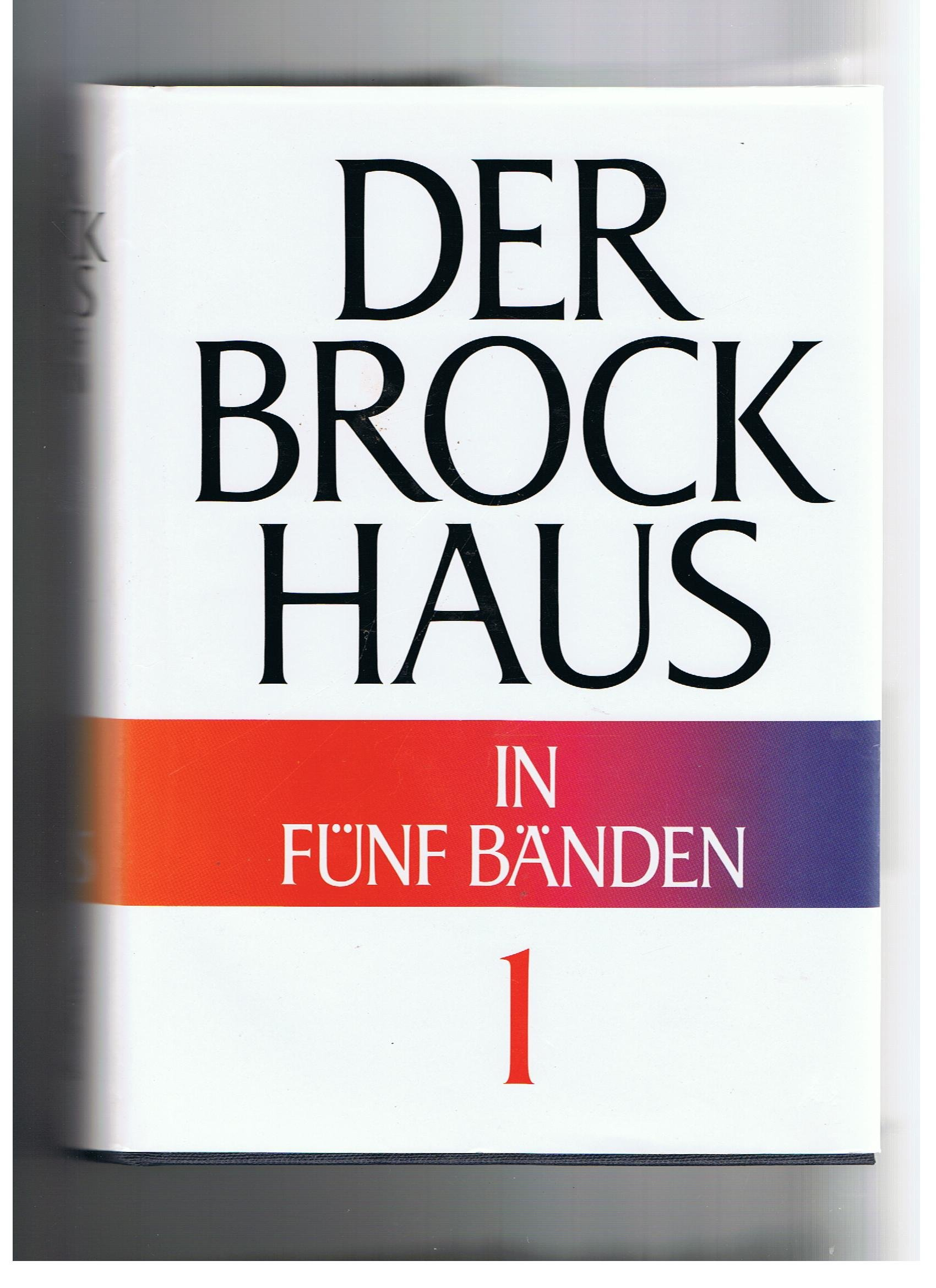 Der Brockhaus in fünf Bänden
