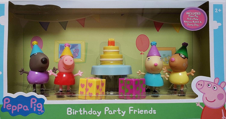 Amazon.com: Figuras de Amigos de Fiesta de cumpleaños ...