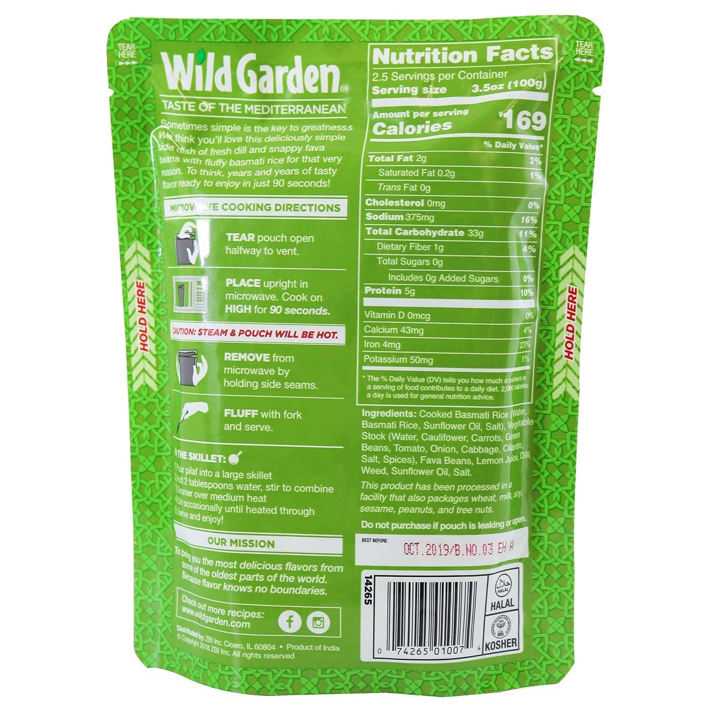 Wild Garden Heat and Serve Pilaf 8.8 oz (6 unidades ...