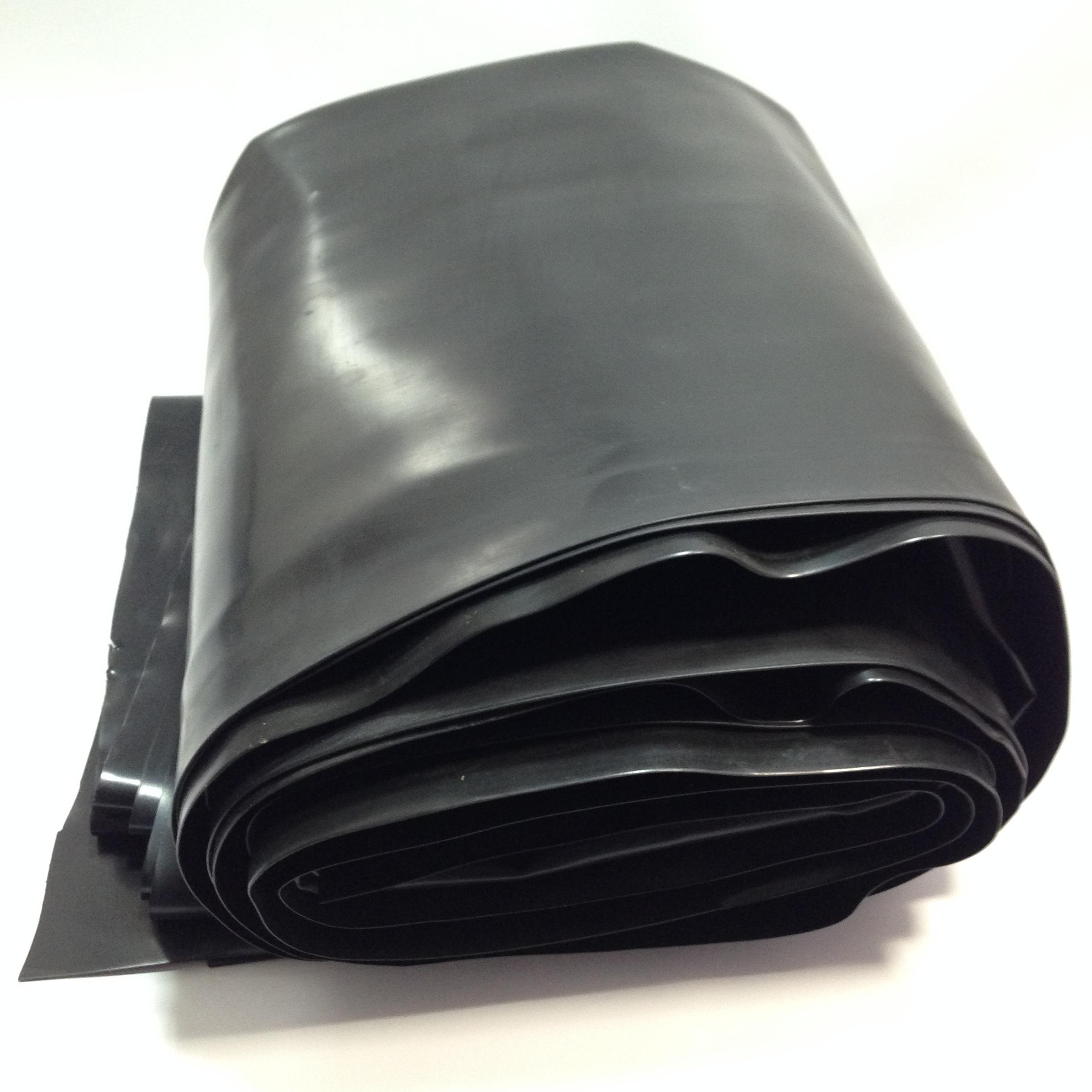 Custom Pro 12.5 Feet x 10 Feet Super-Flex Pond and Water Garden Liner - Black - Compare to EPDM and PVC Liner - Stronger and Easier to Use - Resists Punctures, Tears, UV and Insects - 20 Year Warranty