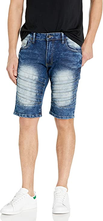 Southpole Mens Basic Denim Shorts Denim Shorts