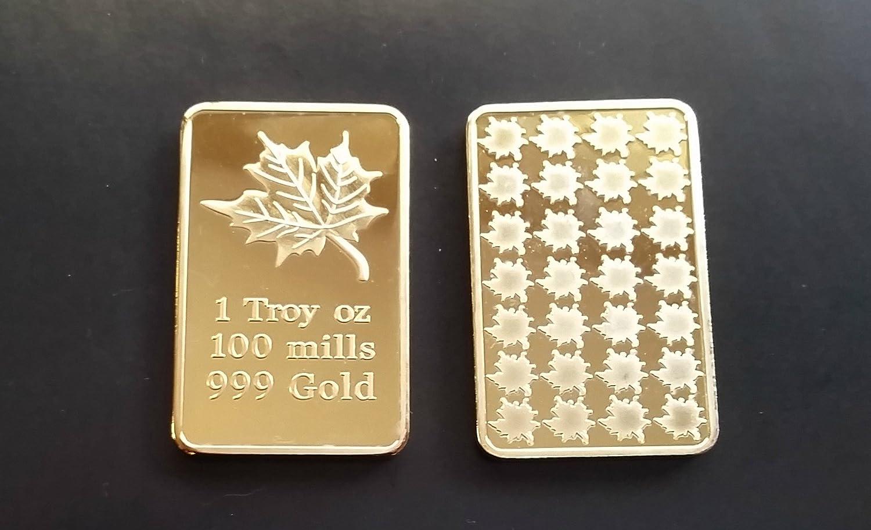 GOLD 1//60 GRAM PURE .999 FINE 24k FRACTIONAL GOLD CHRISTMAS BAR 3mm X 6mm e14