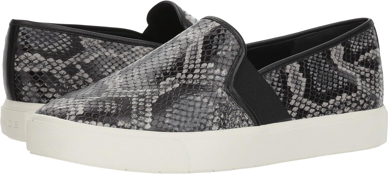 Granite Azzura Snake Print Leather Vince Women's Blair 5 Fashion Sneaker