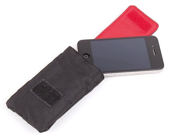 DURAGADGET Funda Acolchada Negra/Roja para Smartwatch Razer ...