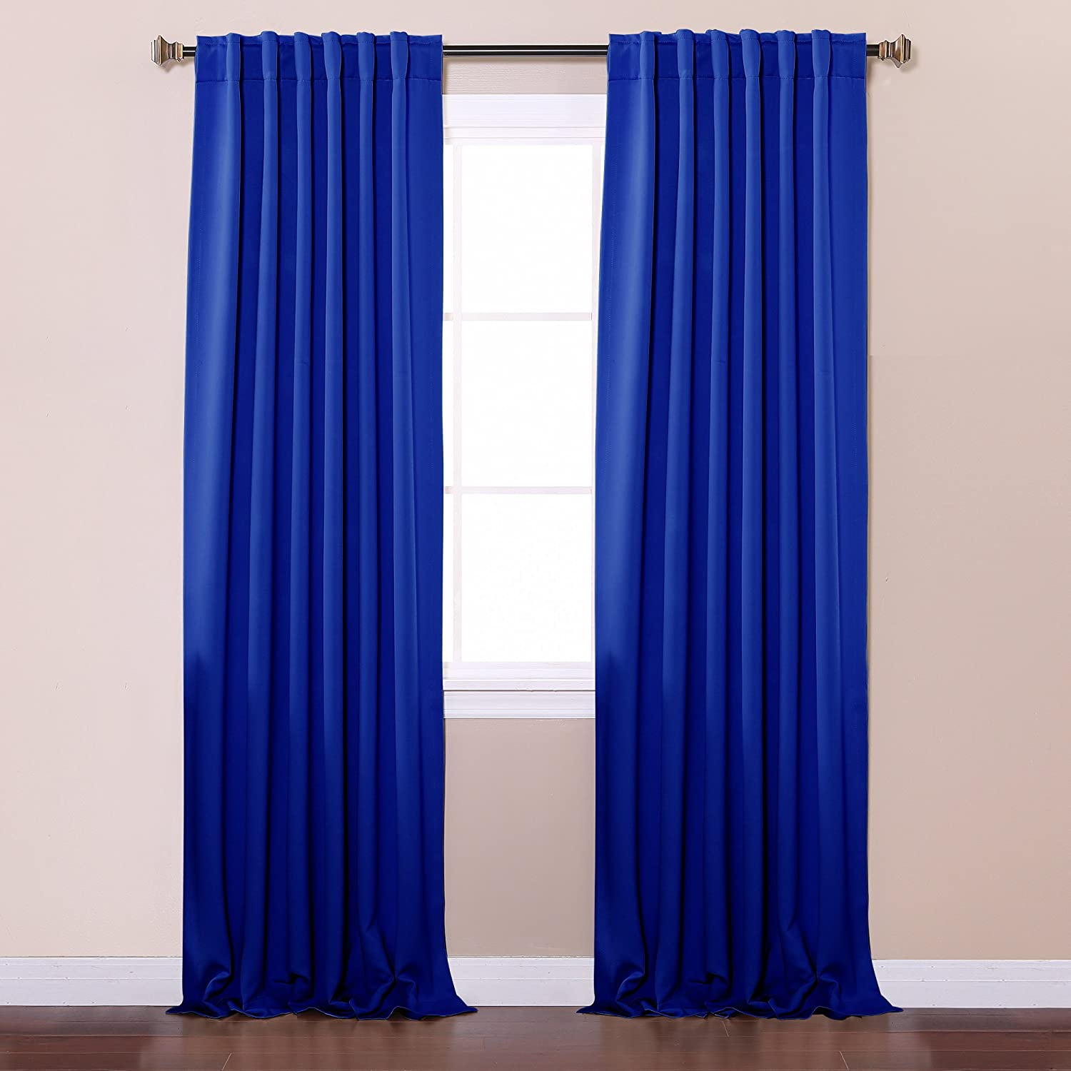 garden curtain product lush free of forest blue today inch home window panel curtains x overstock decor set pair shipping