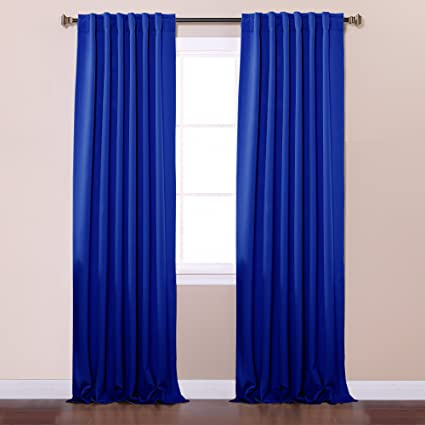 Very Amazon.com: Best Home Fashion Thermal Insulated Blackout Curtains  GY03